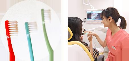 予防歯科 メンテナンス /プロによるブラッシンングアドバイス
